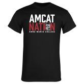 Black T Shirt-Amcat Nation
