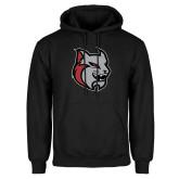 Black Fleece Hoodie-Amcat Head