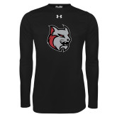 Under Armour Black Long Sleeve Tech Tee-Amcat Head