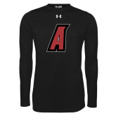 Under Armour Black Long Sleeve Tech Tee-A