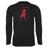 Performance Black Longsleeve Shirt-A