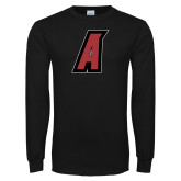 Black Long Sleeve T Shirt-A