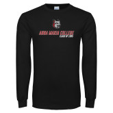 Black Long Sleeve T Shirt-Class of Personalized Year, Personalized Year
