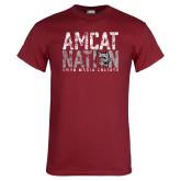 Cardinal T Shirt-Amcat Nation