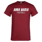 Cardinal T Shirt-Football Wordmark