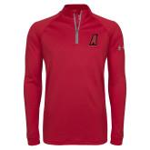 Under Armour Cardinal Tech 1/4 Zip Performance Shirt-A