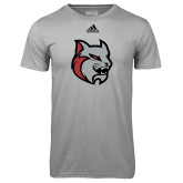 Adidas Climalite Sport Grey Ultimate Performance Tee-Amcat Head