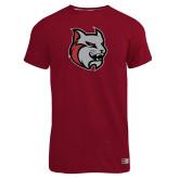 Russell Cardinal Essential T Shirt-Amcat Head