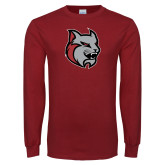 Cardinal Long Sleeve T Shirt-Amcat Head