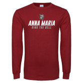Cardinal Long Sleeve T Shirt-Anna Maria Ring The Bell