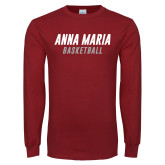 Cardinal Long Sleeve T Shirt-Basketball Wordmark