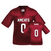 Youth Replica Cardinal Football Jersey-Personalized