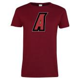 Ladies Cardinal T Shirt-A