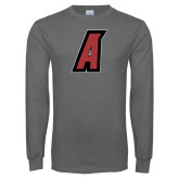 Charcoal Long Sleeve T Shirt-A
