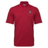 Cardinal Mini Stripe Polo-Primary Mark