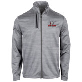 Callaway Stretch Performance Heather Grey Jacket-Primary Mark