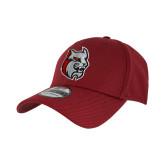 New Era Cardinal Diamond Era 39Thirty Stretch Fit Hat-Amcat Head