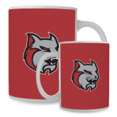 Full Color White Mug 15oz-Amcat Head