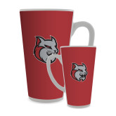 Full Color Latte Mug 17oz-Amcat Head