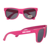Hot Pink Sunglasses-Wordmark