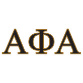 Extra Large Decal-Greek Letters, 6 in Wide