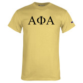 Champion Vegas Gold T Shirt-Greek Letters