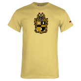 Champion Vegas Gold T Shirt-Crest
