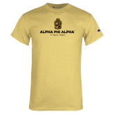Champion Vegas Gold T Shirt-Alpha Phi Alpha YOUR Chapter