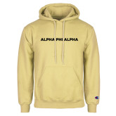 Champion Vegas Gold Fleece Hoodie-Alpha Phi Alpha