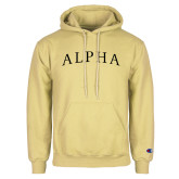 Champion Vegas Gold Fleece Hoodie-Alpha Arched