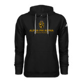 Adidas Climawarm Black Team Issue Hoodie-Alpha Phi Alpha Mission Focused