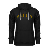 Adidas Climawarm Black Team Issue Hoodie-Alpha Arched