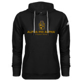 Adidas Climawarm Black Team Issue Hoodie-Alpha Phi Alpha YOUR Chapter