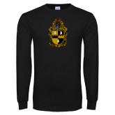 Black Long Sleeve TShirt-Crest