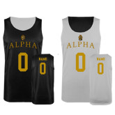 Black/White Reversible Tank-Personalized