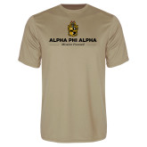 Syntrel Performance Vegas Gold Tee-Alpha Phi Alpha Mission Focused
