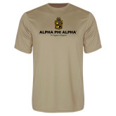 Performance Vegas Gold Tee-Alpha Phi Alpha YOUR Chapter