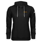 Adidas Climawarm Black Team Issue Hoodie-Greek Letters