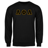 Black Fleece Crew-Tackle Twill Greek Letters