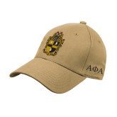 Vegas Gold Heavyweight Twill Pro Style Hat-Crest