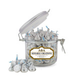 Kissable Creations Small Round Canister-Greek Letters Outlined