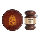 Personalized Gavel & Sound Block Set-Chapter