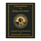 Centennial Book of Essay and Letters Book-