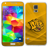 Galaxy S5 Skin-Golden Lion Head