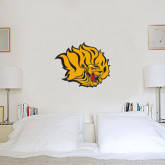 2 ft x 2 ft Fan WallSkinz-Golden Lion Head