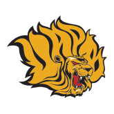 Large Decal-Golden Lion Head, 12 in Tall