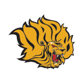 Small Decal-Golden Lion Head, 6 in Tall