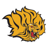 Extra Large Decal-Golden Lion Head, 18 in Tall