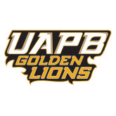 Extra Large Decal-UAPB Golden Lions Stacked, 18 in Wide