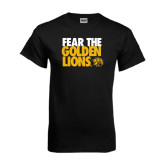 Black T Shirt-Fear The Golden Lions